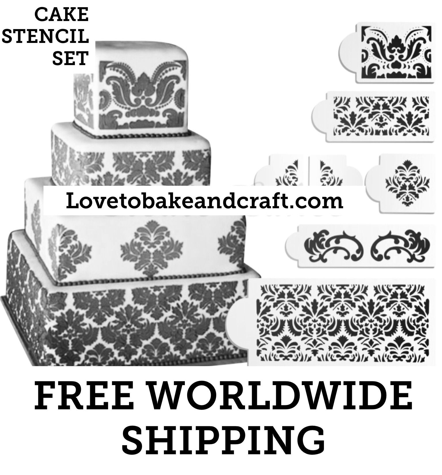 wedding cake stencils printable wedding cake stencil 7 set designer cake stencil 25704